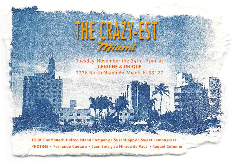 Invitacion exposicion en Miami